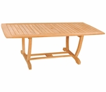 "Hi Teak 71"" U Rectangular Table"