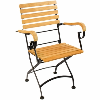 Hi Teak Vienna Bistro Low Arm Chair