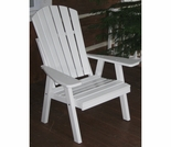 High Back Adirondack Style Chair