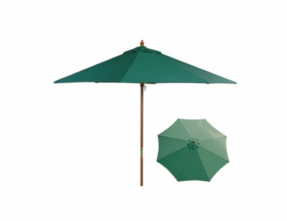 Hunter Green 9 Ft Market Umbrella