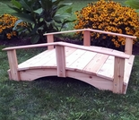 Japanese Garden Bridge - Multiple Lengths