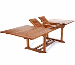 "Java Teak 72"" - 83"" - 95"" Rectangular Extension Dining Table"