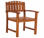 Java Teak Dining Chair