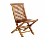 Java Teak Folding Chair