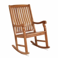 Java Teak Porch Rocking Chair