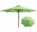 Lime Green 9 Ft Market Umbrella