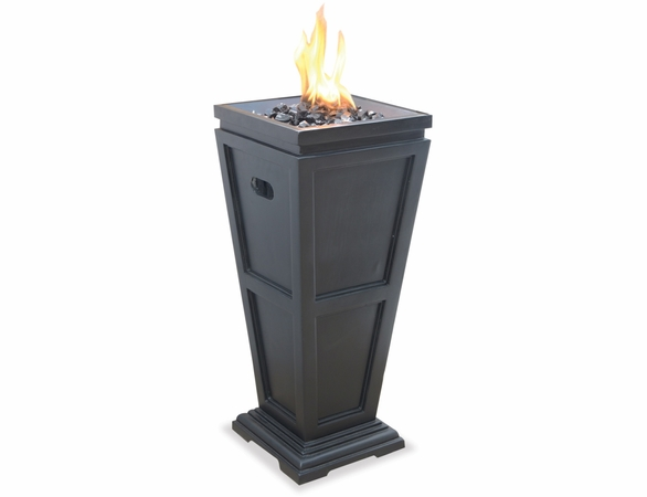 LP Gas Outdoor Fireplace- 2 Sizes