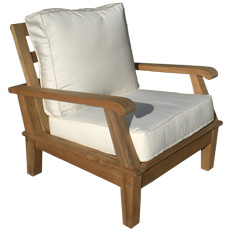 Miami Teak Deep Seating Chair