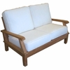 Miami Teak Deep Seating Loveseat