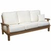 Miami Teak Deep Seating Sofa