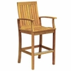 Three Birds Monterey Teak Bar Armchair