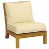 Three Birds Monterey Teak Sectional Armless Chair