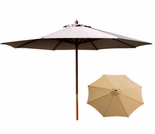 Natural 9 Ft Market Umbrella