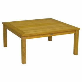 Three Birds Newport Teak Square Coffee Table 42