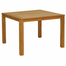 "Three Birds Newport Teak 42"" Square Dining Table"