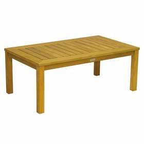 "Three Birds Newport Teak 48"" Rectangle Coffee Table"