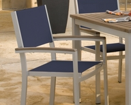 Outdoor Sling Chairs Sling Chair Table Sets