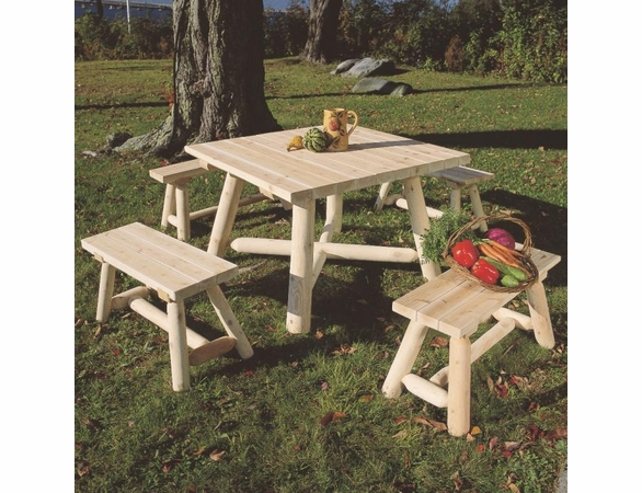 Outdoor Square Table Group