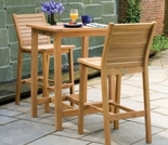 "Oxford Garden 3 Pc Dartmoor 28"" Shorea Bar Set"