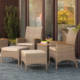 Oxford Garden 5 Pc Torbay Armchair Set - Additional Spring Discounts