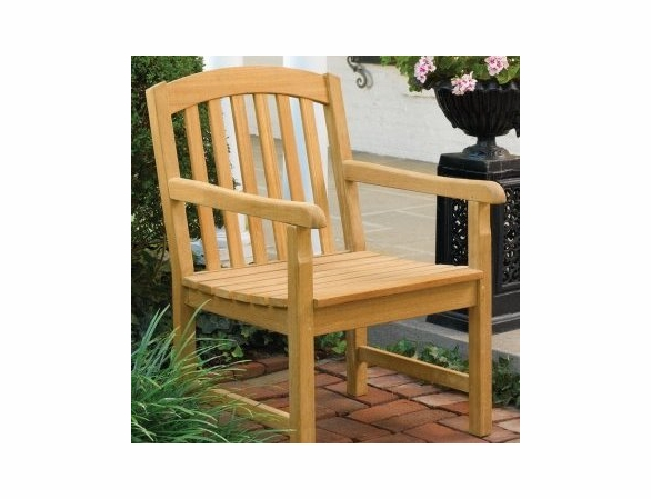 Oxford Garden Chadwick Shorea Armchair - Reduced Closeout Pricing