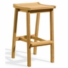 Oxford Garden Dartmoor Shorea Bar Stool - Umber Finish