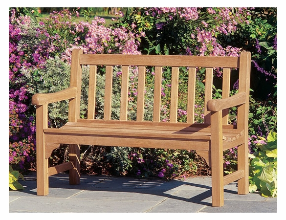 Oxford Garden Essex 4' Shorea Bench - Summer Sale Event Additional Discounts - Lasts 'til Sept 8