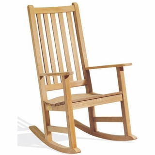 Oxford Garden Franklin Shorea Rocking Chair   End Of Season SALE!