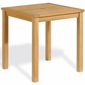 "Oxford Garden Hampton 28"" Square Shorea Dining Table - Additional Spring Discounts"