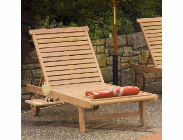 Oxford Garden Oxford Shorea Chaise Lounge - Reduced Closeout Pricing