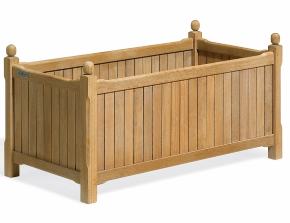 "Oxford Garden Rectangular Shorea English Planter 38"" - Summer Sale Event Additional Discounts"