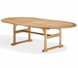 "Oxford Garden Shorea 88"" Oval Dining Table - Additional Spring Discounts"