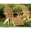 Oxford Garden Shorea Adirondack Chair - Summer Sale Event Additional Discounts - Lasts 'til Sept 8