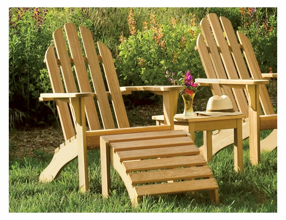 Oxford Garden Shorea Adirondack Chair - Summer Sale Event Additional Discounts