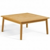 "Oxford Garden Siena Shorea 42"" Chat Table"