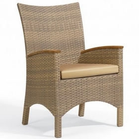 Oxford Garden Torbay Wicker Arm Chair (Set of 2)