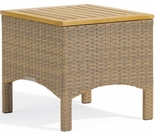 Oxford Garden Torbay Wicker End Table - Additional Spring Discounts