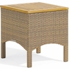 Oxford Garden Torbay Wicker End Table - Reduced Closeout Pricing