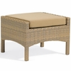 Oxford Garden Torbay Wicker Ottoman - Reduced Closeout Pricing
