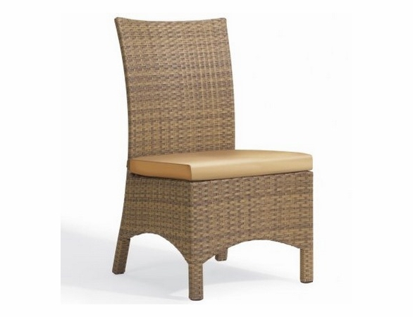Oxford Garden Torbay Wicker Side Chair (Set of 2) - Reduced Closeout Pricing
