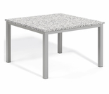 "Oxford Garden Travira 39"" Square Granite Lite-Core Top Dining Table - Additional Spring Discounts"