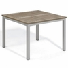 "Oxford Garden Travira 39"" Square Tekwood Top Dining Table - Additional Spring Discounts"
