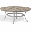 "Oxford Garden Travira 47"" Round Tekwood Top Chat Table"