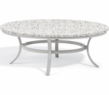 """Oxford Garden Travira 48"""" Round Lite-Core Chat Table - Additional Spring Discounts"""