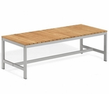 "Oxford Garden Travira 48"" Teak Backless Bench"