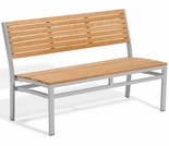 "Oxford Garden Travira 45"" Teak Stacking Bench"