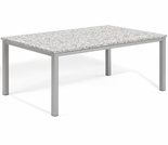 "Oxford Garden Travira 63"" Rectangular  Granite Lite-Core Top Dining Table - Additional Spring Discounts"
