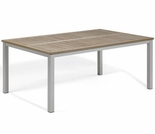 "Oxford Garden Travira 63"" Rectangular Tekwood Top Dining Table - Additional Spring Discounts"