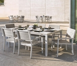 "Oxford Garden Travira 7-Piece Lite-Core Dining Set with 63"" x 43"" Rectangular Table - Additional Spring Discounts"