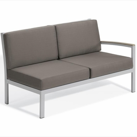 Oxford Garden Travira Left Arm Loveseat Sectional Unit - Additional Spring Discounts